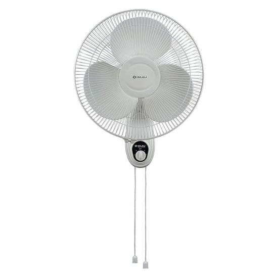 Bajaj Esteem 400 mm 3 Blade Double String Wall Fan, White