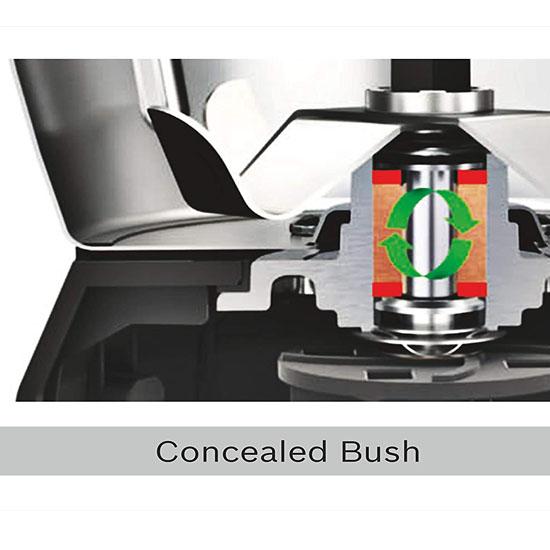 Bosch TrueMixx Bold Mixer Grinder 600-W 3 Jars-Black