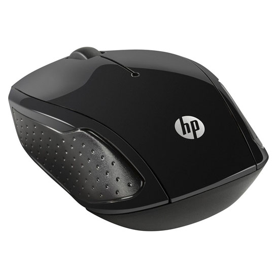 HP 200 Wireless Optical Mouse 2.4GHz-Black