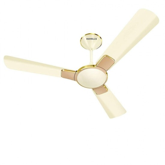 Havells Enticer 1200 mm (Rpm 350) 3 Blade Ceiling Fan, Pearl Ivory Beige