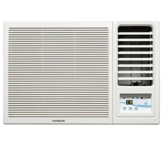Hitachi 1 Ton 5 Star Window AC (KAZE PLUS RAW511KUD) Copper Condenser, White