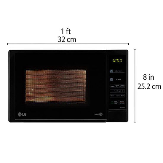 Buy Lg 20 L Solo Microwave Oven Ms2043db Black