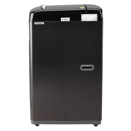 LG 6.5 kg Fully Automatic Top Load  T65SJBK1Z, Black Brown
