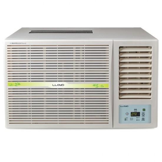Lloyd 1.5 Ton 5 Star Inverter Window Air Conditioner LW19I52MZ Silent Operation 100% Copper, White