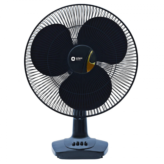 Orient Electric Table-26 Trendz 400mm 3 Blade High Speed Table Fan, Electric Blue