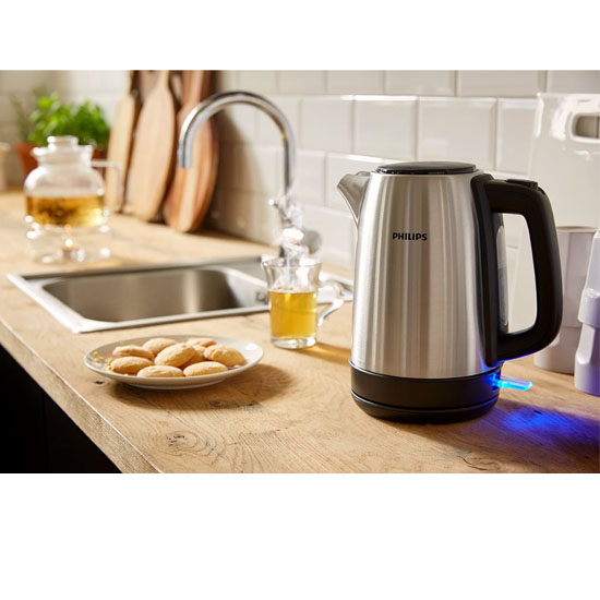 Philips HD9350/92 Electric Kettle Stainless Steel (1.7 L)-Silver