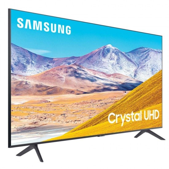 Samsung 125 cm (50 inch) 4K Ultra HD LED Smart TV, UA50TUE60AKXXL (2020 Model), Crystal  Black