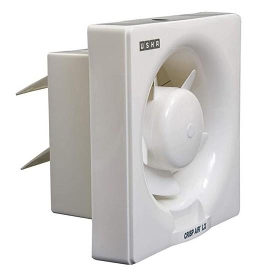 Usha Crisp Air LX 150mm 5 Blade Exhaust Fan, White