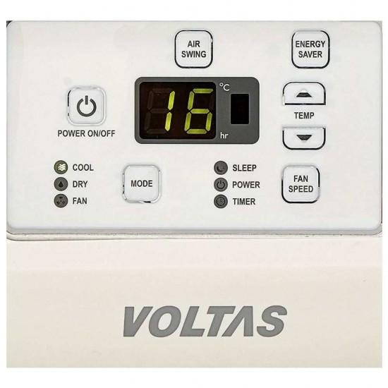 Voltas 1.5 Ton 5 Star Inverter Window AC 185V DZA, White